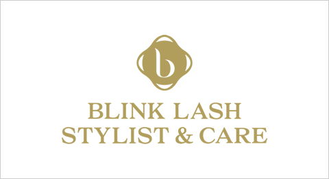 BLINK LASH STYLIST & CARE ロゴ Metallic Formula Color